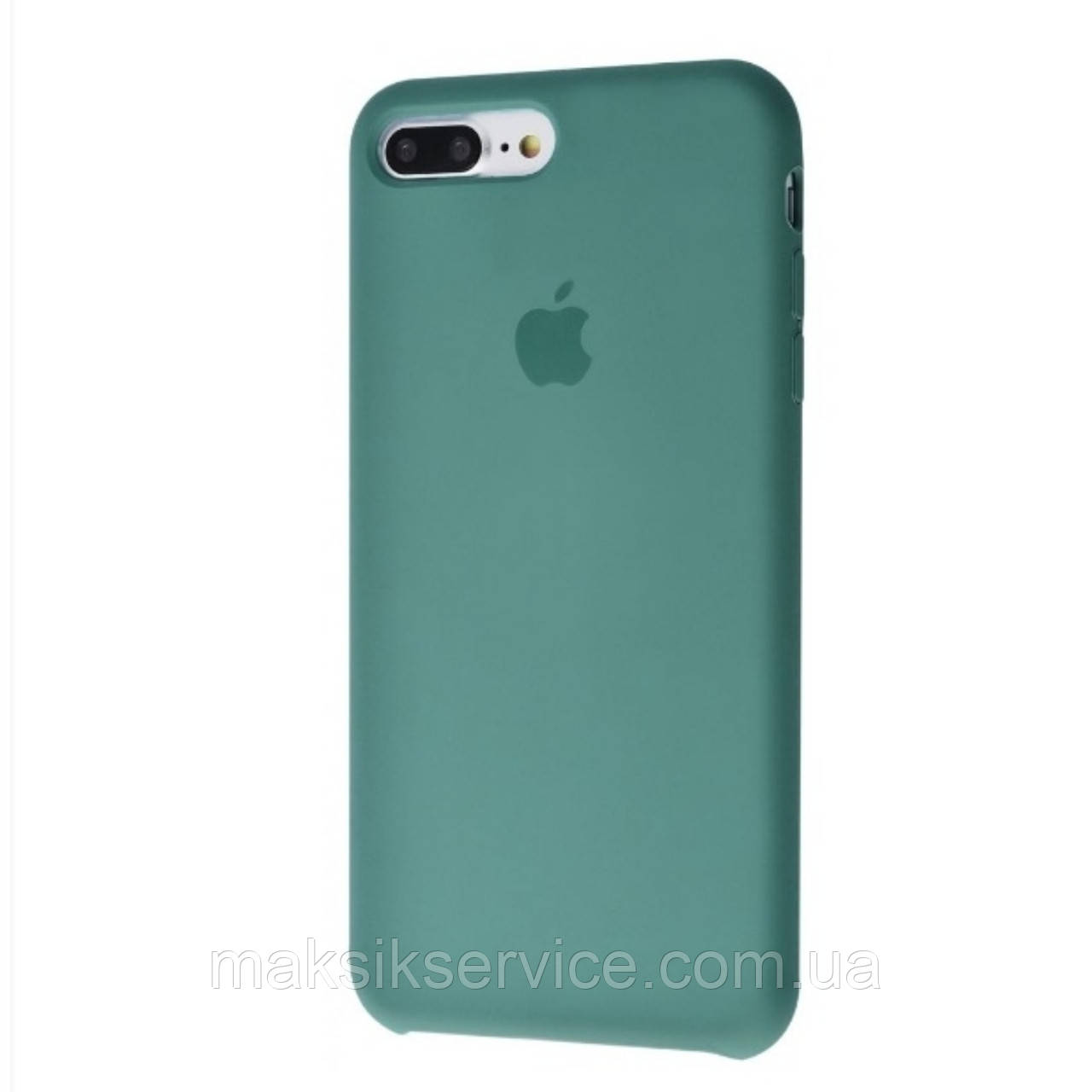 Чехол Silicone Case iPhone 7 Plus/8 Plus pine green