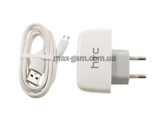 УЗУ 2в1 HTC TC P450-EU (СЗУ USB/Data Cable) white