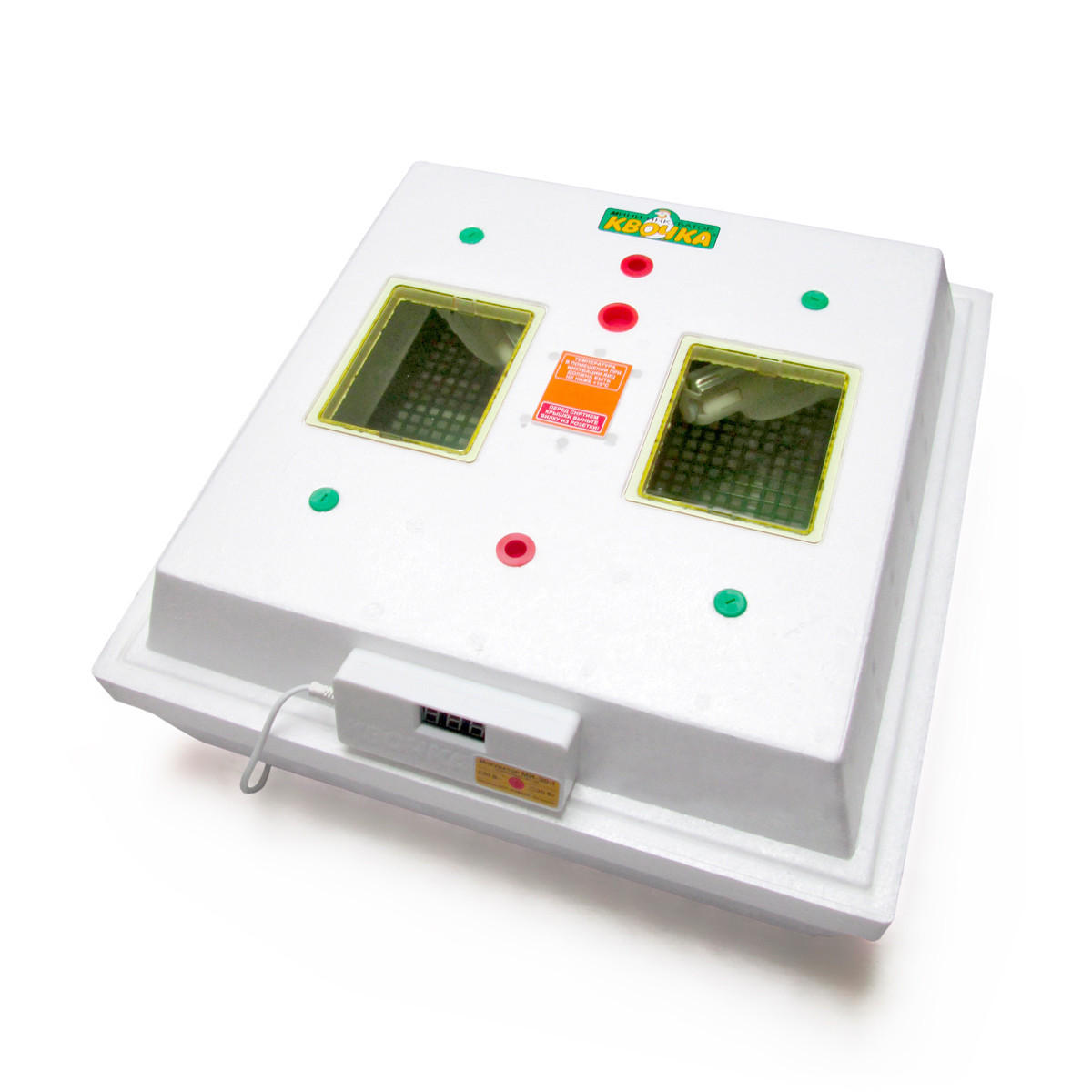 """Инкубатор """"Квочка"""" на 80 яиц (аналоговый терморегулятор) ручной переворот"""