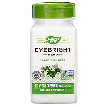 "Очанка Nature's Way ""Eyebright Herb"" 860 мг (100 капсул)"