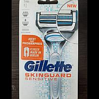 Станок для бритья Gillette Fusion Skinguard sensitive, фото 1