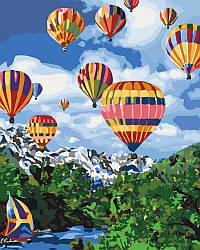 Картина по номерам Покоряя небо, 40x50 см., Идейка
