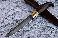 """Нож ручной работы из дамасской стали """"Финка"""""""