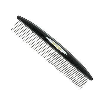 """Гребінець комбінована ANDIS Premium 7.5"""" Steel Comb для вичісування"""