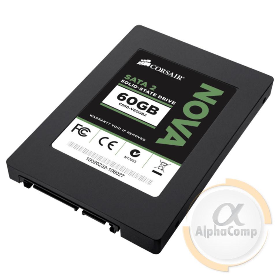 "Накопитель SSD 2.5"" 60GB Corsair NOVA (270/240• SATAII) CSSD-V60GB2A БУ"