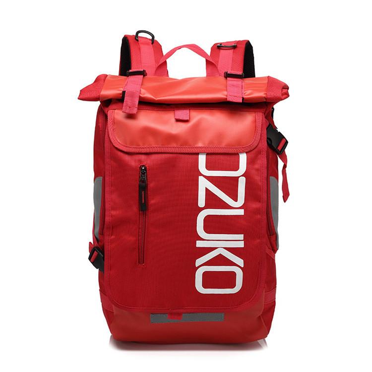 Рюкзак Роллтоп OZUKO RollTop 8020 красный