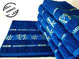 Полотенце махровое 70х140 Бамбук. Синее., фото 3