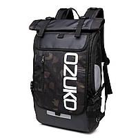 Рюкзак Роллтоп OZUKO RollTop 8020 камуфляжный