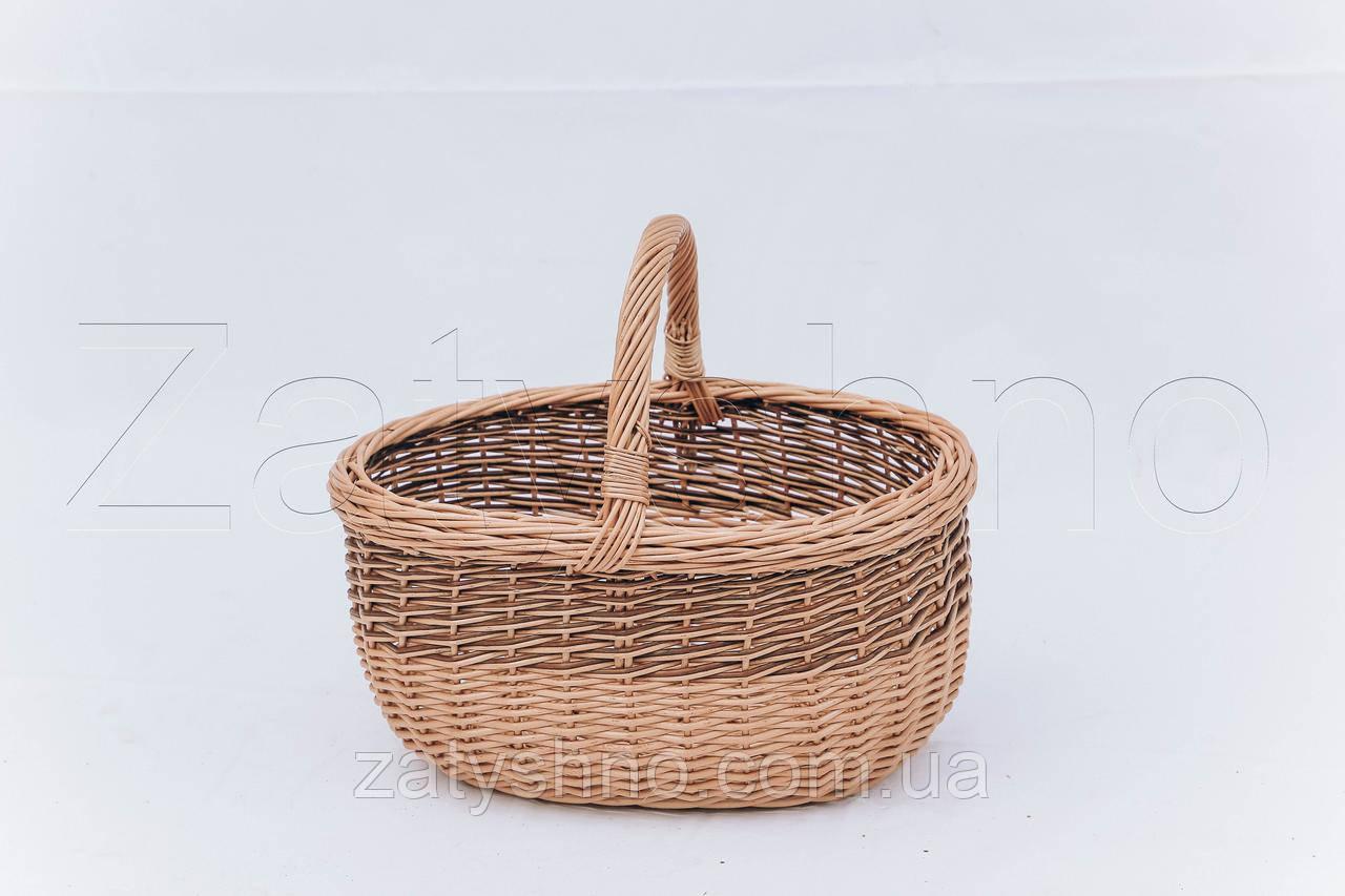 Великодній кошик | плетений кошик на Великдень з лози | кошик на Великдень
