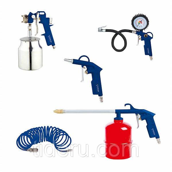 Набор пневматических инструментов FORTE AT KIT-5S из 5 предметов