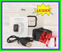 Часы наручные Smart Watch W34 , электронные часы Смарт вач, умные часы + подарок