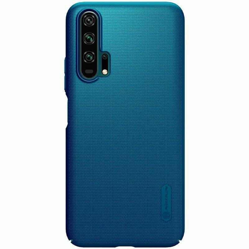 Nillkin Huawei Honor 20 Pro Super Frosted Shield Peacock Blue Чехол Накладка Бампер