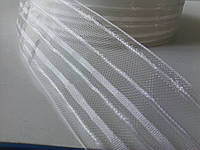 Тесьма для штор прозрачная, 6 см