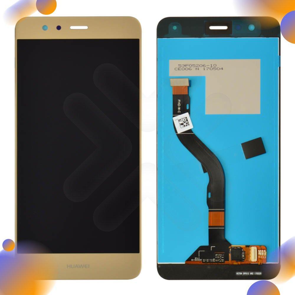 Дисплей для Huawei P10 Lite (WAS-L21/WAS-LX1/WAS-LX1A) с тачскрином в сборе, цвет золотой, оригинал