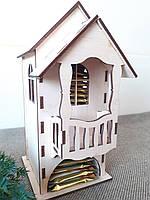 Чайний будиночок . Чайный домик с конфетницей.
