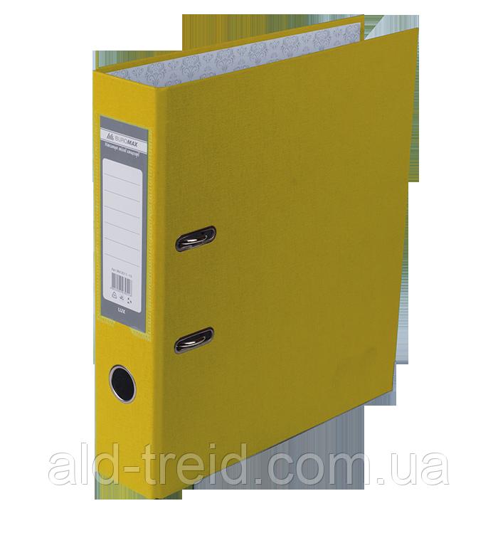 Папка-реєстратор А4 5см п/п жовта