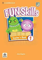 Fun Skills 1 Teacher's Book with Audio Download