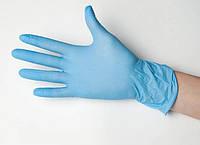 Перчатки нитриловые Medicom L неопудренные текстурированные 50 пар Голубые (MAS40015)
