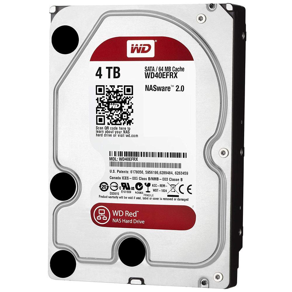 """Накопитель HDD 3.5"""" 4Tb SATA-III Western Digital Red WD40EFRX 64MB IntelliPower"""