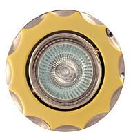 Точечный светильник MR16 734A PG/N   перл.золото/никель