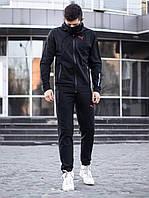 Спортивный костюм + Маска Puma BMW xx black мужской осенний весенний | ЛЮКС качество, фото 1