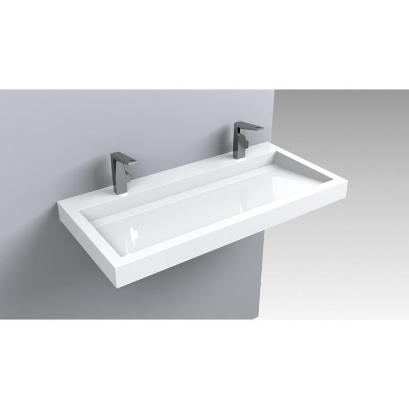 Раковина для ванной подвесная Miraggio Agness 1000 (глянец/ 995*479*140 мм)