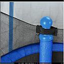 Батут Atleto 152 см з сіткою синій (5 ft) (21000101), фото 2