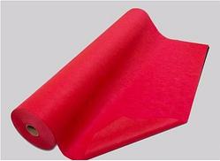 Простирадло одноразова в рулоні - 100 м* 60 див. червона