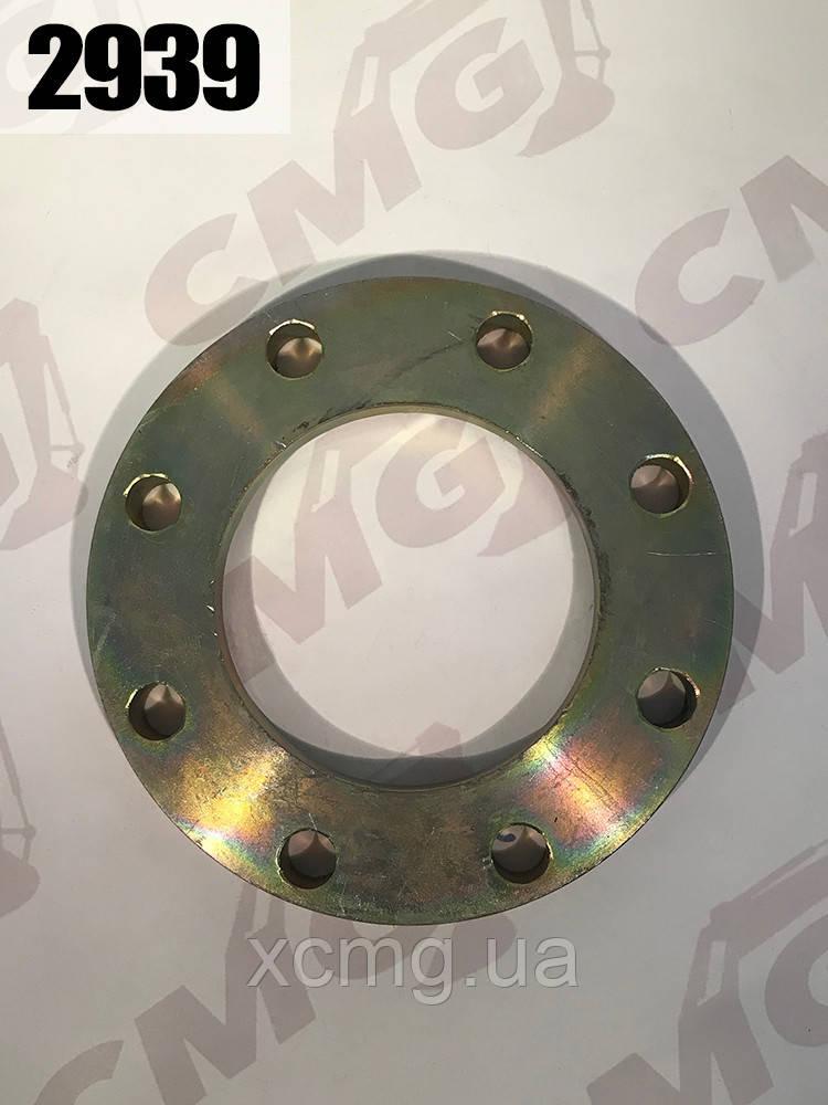Фланець поворотного механізму напіврами нижній Z5G.6-11 фронтального навантажувача ZL50G XCMG