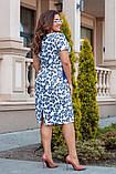Легкое летнее платье,размеры:52,54,56,58., фото 3