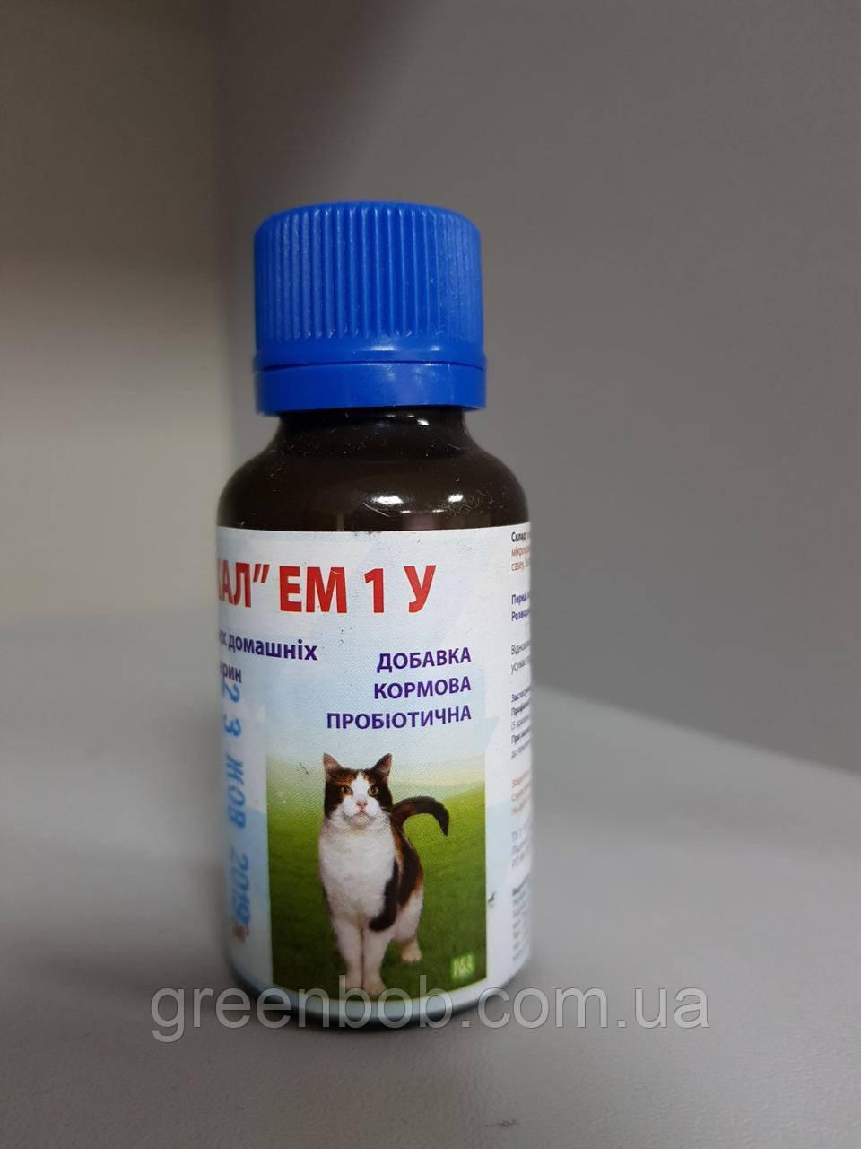 Байкал ЭМ-1У добавка кормовая пробиотическая для мелких домашних животных 33 мл