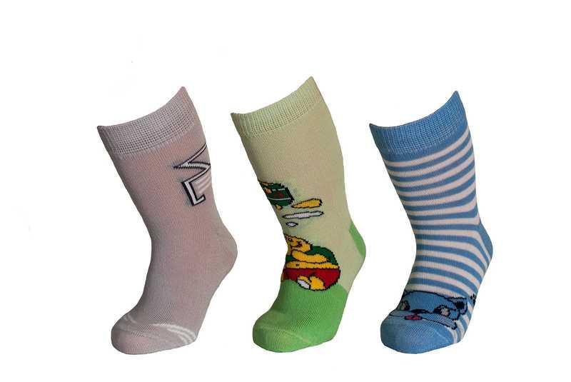 Носки детские демисезонные, высокие для мальчика, Дюна (размер 08-10)