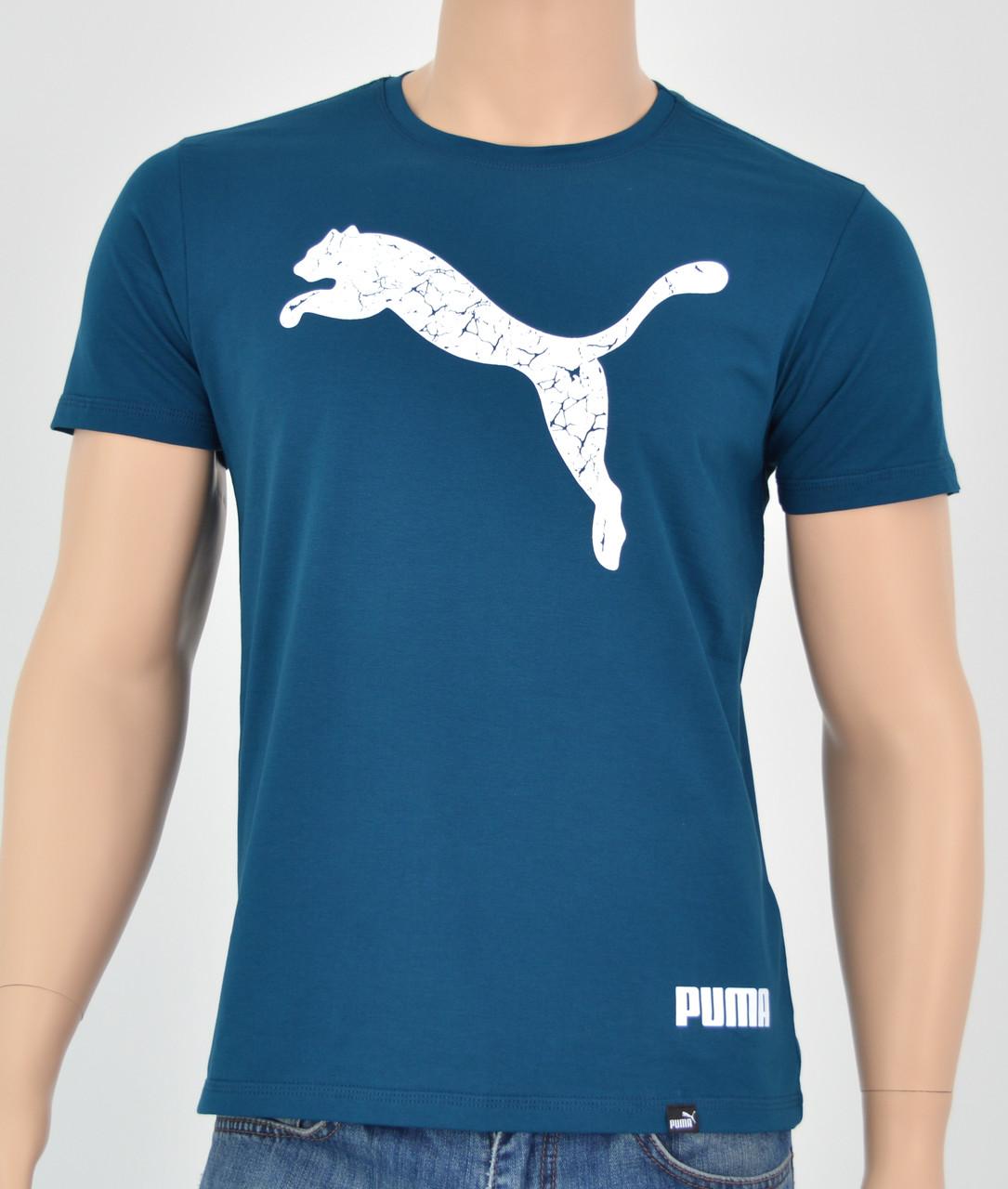 Чоловіча футболка Puma(репліка) Морський