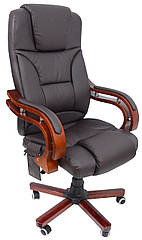 Крісло з масажем Bonro Premier M-8005 Brown (42000009)