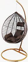 Підвісне крісло-гойдалка кокон B-183A (коричневе) (46000001)