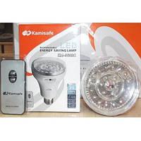 Лампа-фонарь Kamisafe KM-5610С| Аварийная лампочка | Лампочка с аккумулятором