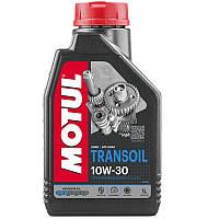 Масло трансмиссионное минеральное MOTUL Transoil SAE 10W30 1л. 105894/314101