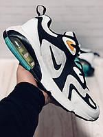 Кроссовки Мужские Nike (Найк) Air Max 200,White/Black/Green