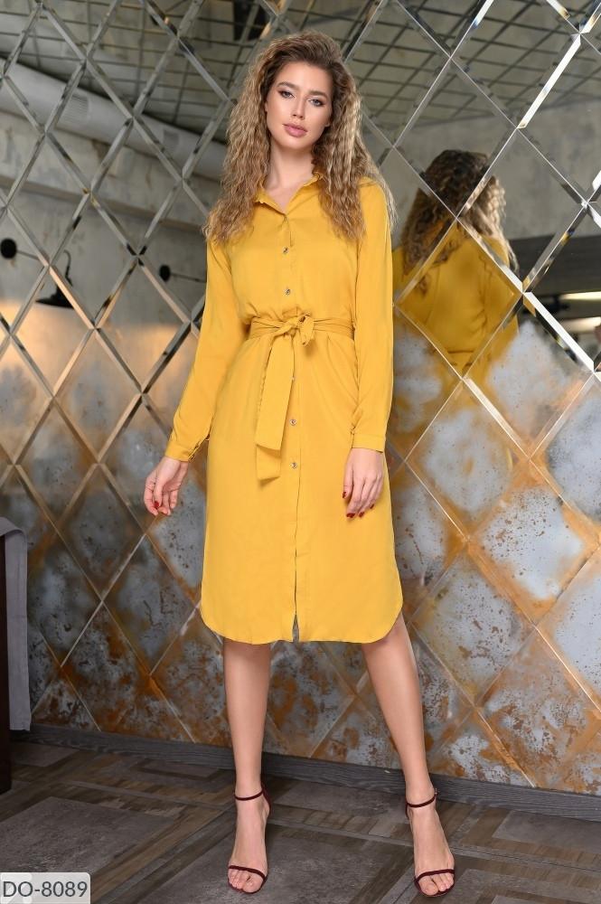 Стильное платье   (размеры 50-56) 0236-44