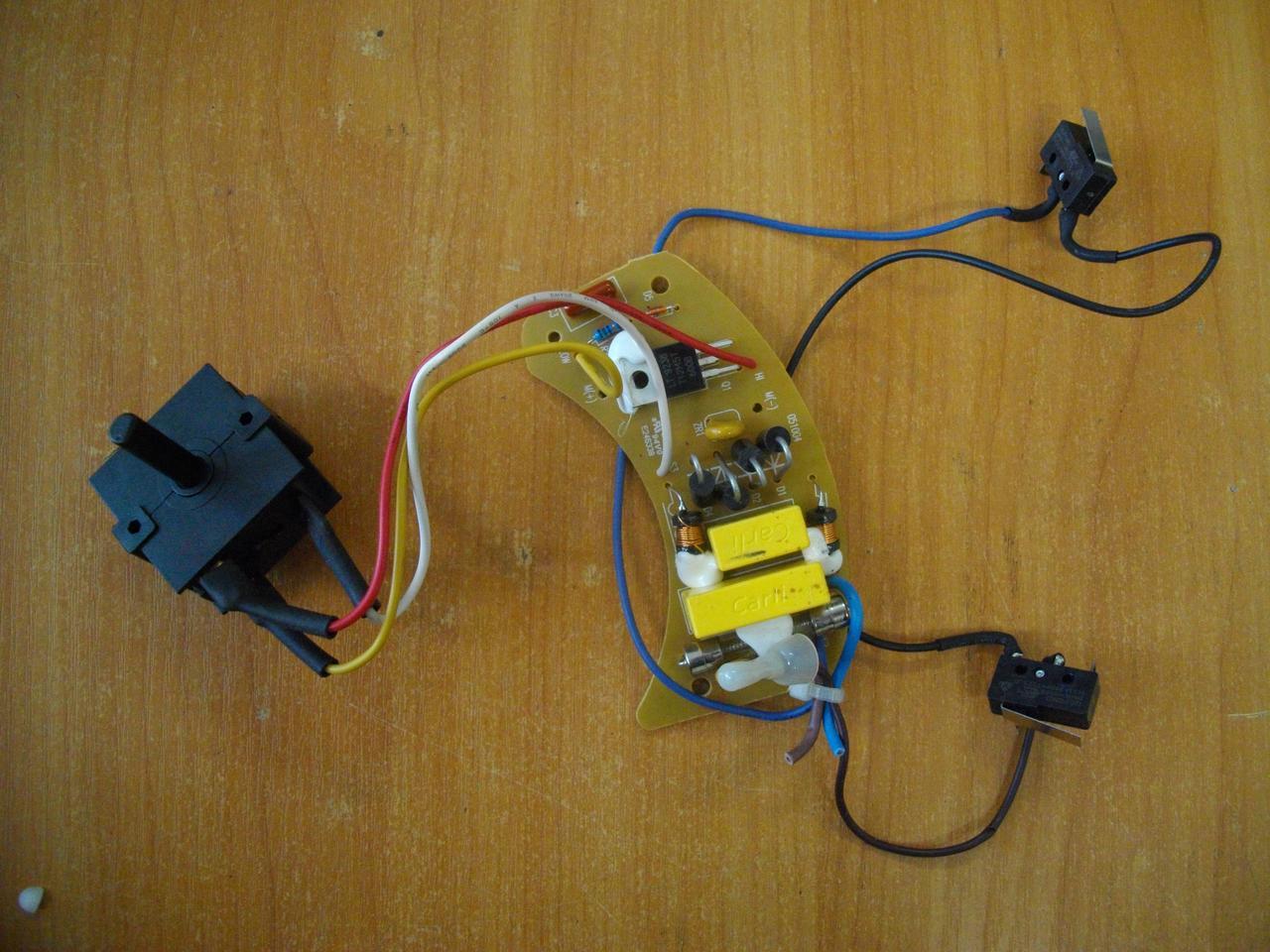 Плата управления двигателем DD-30R-0002, E246338 бу для соковыжималки Philips HR1861
