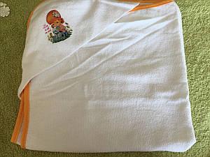 Полотенце для купания. Уголок  Турция 70×70 см