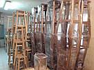 Барный стул с круглою крышкой (бук)  (80*30*30см), фото 5