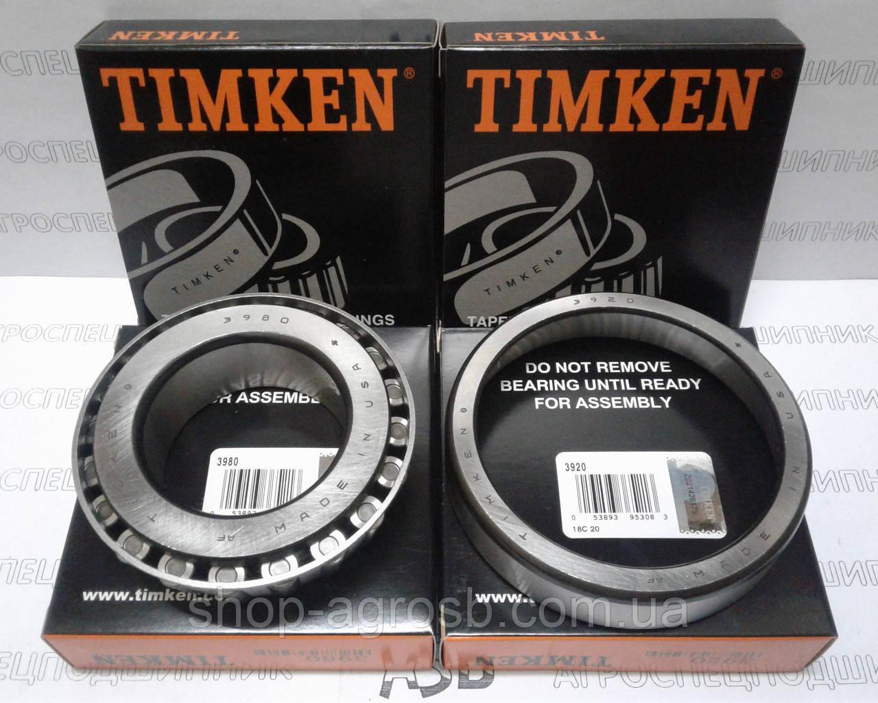 Подшипник TIMKEN 3980/3920
