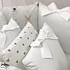Комплект детского белья в овальную кроватку Shine Алиса белый (7 предметов), фото 2
