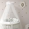 Комплект детского белья в овальную кроватку Shine Алиса белый (7 предметов), фото 4