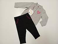 Трикотажный костюм для девочки 100% хлопок