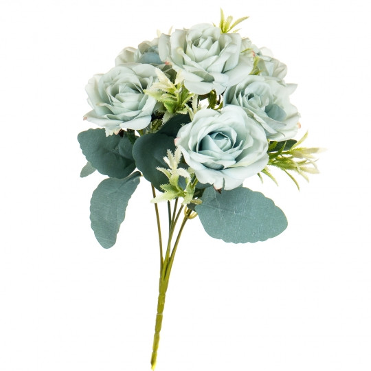 """Букет """"Голубые бутоны роз"""""""