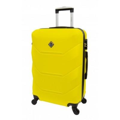 Чемодан Bonro 2019 большой, желтый