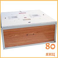 "Инкубатор ""Курочка ряба"" на 80 яиц  (цифровой терморегулятор) автоматический переворот, фото 1"