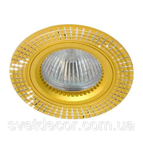 Светильник встраиваемый точечный Feron GS-M369 MR16 GU5.3 золото